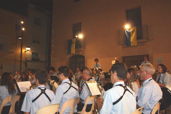 Societat Musical La Unió Filharmònica d´Amposta > Arxiu de notícies > Concert de la Banda de Música a Vila-Seca