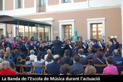 Celebració de la Diada de Sant Jordi al Castell d´Amposta