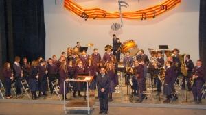 La Banda Juvenil participa en la Trobada de Bandes Juvenils d´Ulldecona