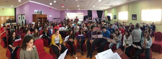 Societat Musical La Unió Filharmònica d´Amposta > Arxiu de notícies > Èxit de participació en les V Colònies Musicals organitzades per l'Escola de la Unió Filharmònica