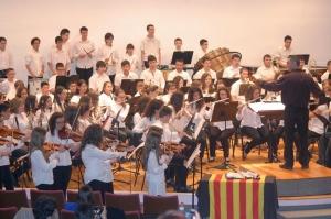 Èxit de participació en les V Colònies Musicals organitzades per l'Escola de la Unió Filharmònica