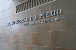 El conjunt instrumental de l´Ateneo Musical del Puerto de València visita l´Escola de Música de la Fila
