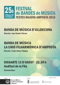 25è FESTIVAL DE BANDES DE MÚSICA