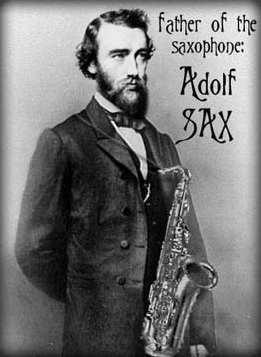 Societat Musical La Unió Filharmònica d´Amposta > Arxiu de notícies > El dijous 6 de novembre es van celebrar els 200 anys del naixement d´Adolf Sax, l´inventor del saxòfon