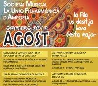 AGENDA D´ACTIVITATS AGOST 2012