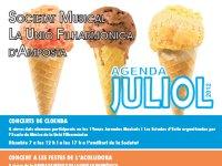 Agenda d´activitats JULIOL 2012