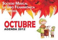 AGENDA D´ACTIVITATS OCTUBRE 2012