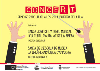 Ens visita la Banda Jove de l´Ateneu Musical i Cultural d´Albalat de la Ribera