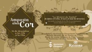 El festival Amposta amb Cor comptarà amb l´actuació dels Quicos i la banda de música de la Unió Filharmònica