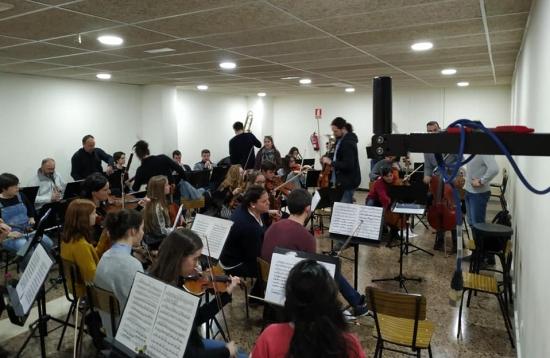 Societat Musical La Unió Filharmònica d´Amposta > Notícies > Assaig de l´OSTE