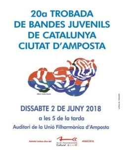 20a Trobada de Bandes Juvenils de Catalunya Ciutat d´Amposta