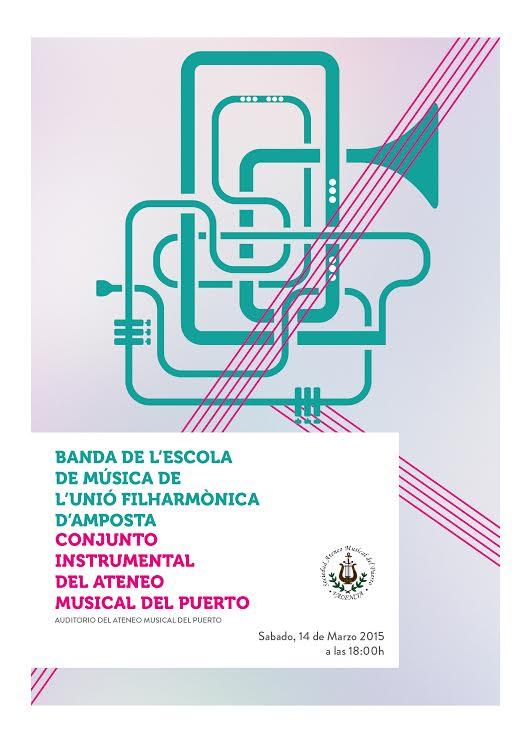 Societat Musical La Unió Filharmònica d´Amposta > Arxiu de notícies > La Banda de l´Escola oferirà un concert a València