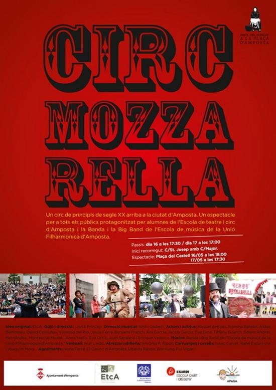 Societat Musical La Unió Filharmònica d´Amposta > Arxiu de notícies > ARRIBA A AMPOSTA EL CIRC MOZZARELLA!!!