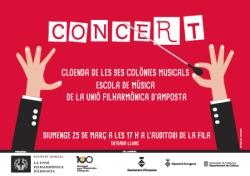 Concert de cloenda Colònies Musicals 2018