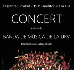 Concert a càrrec de la Banda de música de la URV
