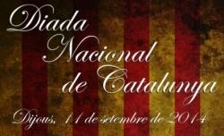 DIADA NACIONAL DE CATALUNYA 2014