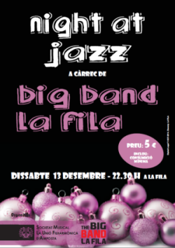 NIGHT AT JAZZ AMB LA BIG BAND LA FILA