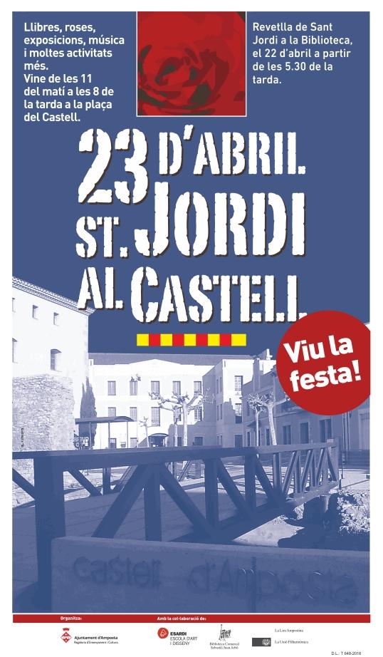 Societat Musical La Unió Filharmònica d´Amposta > Arxiu de notícies > SANT JORDI AL CASTELL 2016