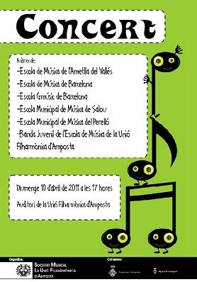 Societat Musical La Unió Filharmònica d´Amposta > Arxiu de notícies > II COLÒNIES MUSICALS DE L´ESCOLA DE MÚSICA DE LA UNIÓ FILHARMÒNICA D´AMPOSTA