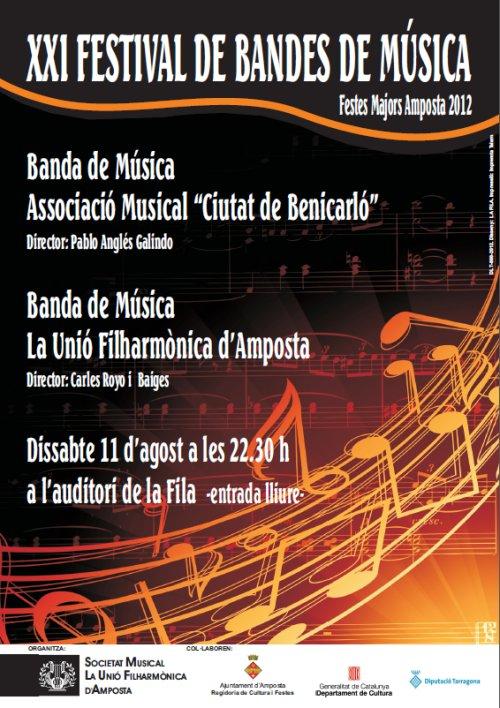 21è FESTIVAL DE BANDES DE MÚSICA
