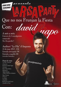 LA RISA PARTY AMB DAVID GUAPO