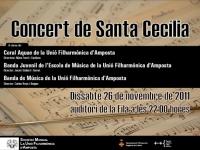 PROGRAMA DEL CONCERT DE SANTA CECÍLIA 2011