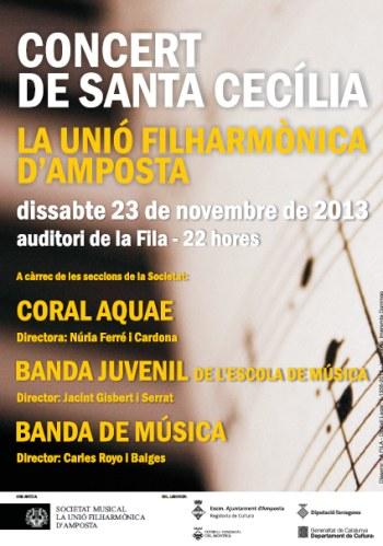 CONCERT DE SANTA CECÍLIA 2013