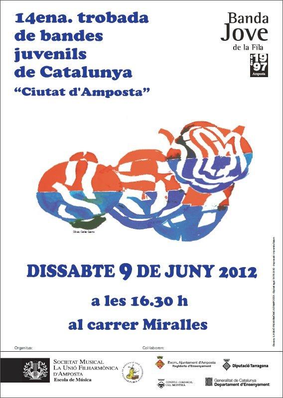 """Societat Musical La Unió Filharmònica d´Amposta > Arxiu de notícies > 14ena. TROBADA DE BANDES JUVENILS DE CATALUNYA """"Ciutat d´Amposta"""""""