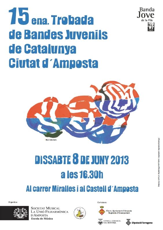 Societat Musical La Unió Filharmònica d´Amposta > Arxiu de notícies > 15ena. TROBADA DE BANDES JUVENILS CIUTAT D´AMPOSTA