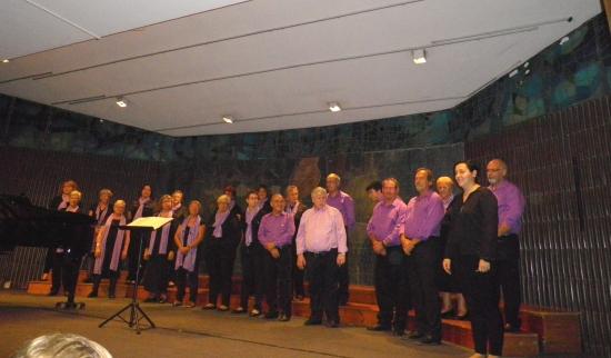 Societat Musical La Unió Filharmònica d´Amposta > Arxiu de notícies > La Coral Aquae participa en un dels concerts del cicle Catalunya Coral organitzats per l´Orfeó Gracienc