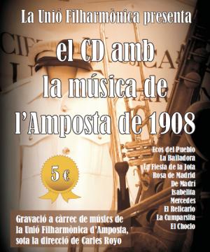 EL CD AMB LA MÚSICA DE L'AMPOSTA DE 1908