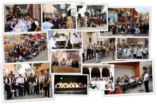 Societat Musical La Unió Filharmònica d´Amposta > Arxiu de notícies > ACTIVITATS DE LA FILA A LA FESTA DEL MERCAT A LA PLAÇA