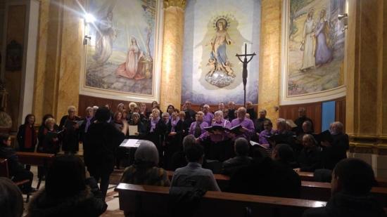 Societat Musical La Unió Filharmònica d´Amposta > Notícies > Concert coral de Nadal