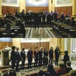 Concert del Cor EnCant i la Coral Aquae de la Fila