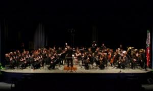 La Banda de Música de la Fila actua a l´auditori de la Lira