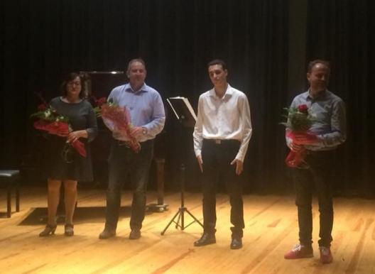 Societat Musical La Unió Filharmònica d´Amposta > Notícies > Concert de fi de grau professional de Miquel Pla