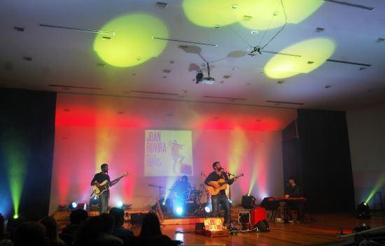 Societat Musical La Unió Filharmònica d´Amposta > Arxiu de notícies > Galeria de fotos concert JOAN ROVIRA