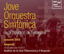 Concert de la Jove Orquestra de la Diputació de Tarragona