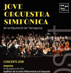 Concert de la Jove Orquestra Simfònica de la Diputació de Tarragona