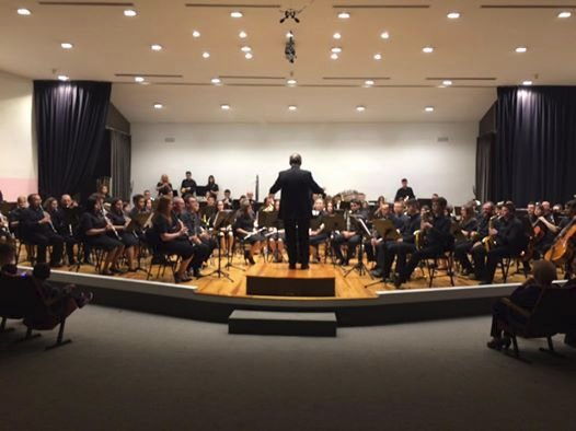 Societat Musical La Unió Filharmònica d´Amposta > Arxiu de notícies > Concert de la Lira Ampostina a la Fila amb motiu del Centenari
