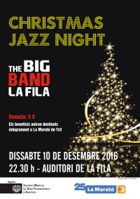 CHRISTMAS JAZZ NIGHT AMB LA BIG BAND DE LA FILA