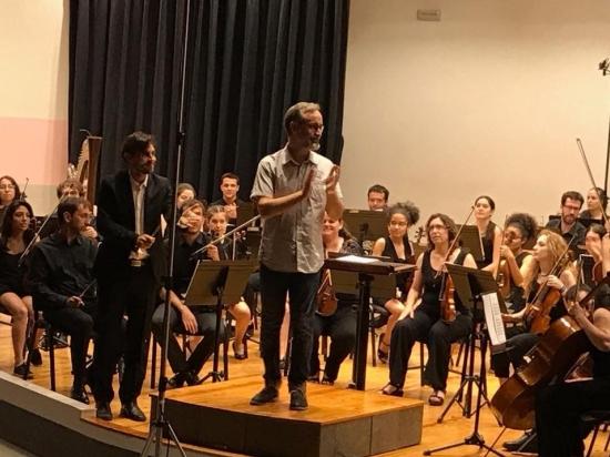 Societat Musical La Unió Filharmònica d´Amposta > Notícies > Concert de l´Orquestra Simfònica de les Terres de l´Ebre