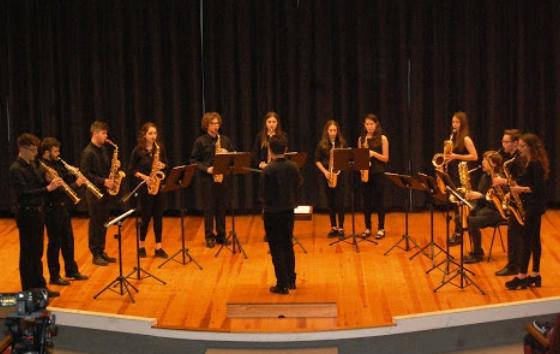 Galeria de fotos del concert del Grup de Saxos del Conservatori de Tortosa