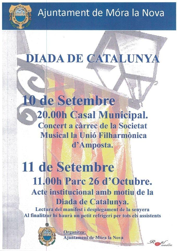 Societat Musical La Unió Filharmònica d´Amposta > Arxiu de notícies > Concert de la Banda a Móra la Nova