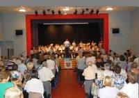 La Banda de Música de la Fila posa música a la Diada a Móra la Nova