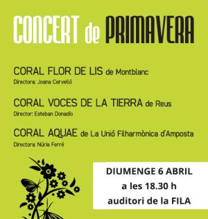 CONCERT CORAL DE PRIMAVERA