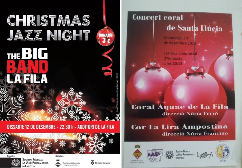 Societat Musical La Unió Filharmònica d´Amposta > Arxiu de notícies > DOS CITES MUSICALS PER A AQUEST CAP DE SETMANA