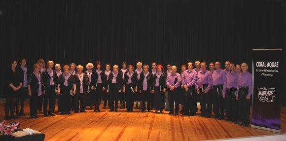 Societat Musical La Unió Filharmònica d´Amposta > Coral Aquae > COMPONENTS