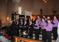 La Coral Aquae participa en un concert de nadales a Benifallet