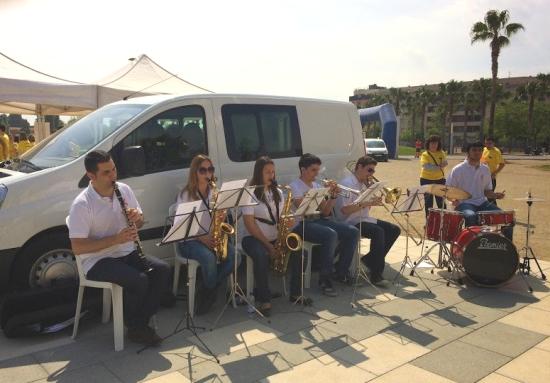 Societat Musical La Unió Filharmònica d´Amposta > Arxiu de notícies > La Fila col·labora amb la 1a. Cursa Solidària Institut Montsià